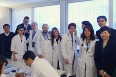 "苏菲女士到访""世界心脏知名医院""Policlinico Universitario Campus Bio-Medico医院和SAN DONATO 医院"