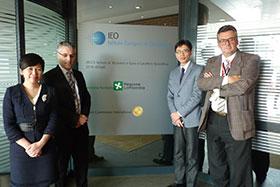 苏菲女士与瑞士ABL中国项目代表林刚先生到访世界肿瘤研究领域知名医院:IEO欧洲肿瘤研究院·欧洲肿瘤防治中心(非盈利)