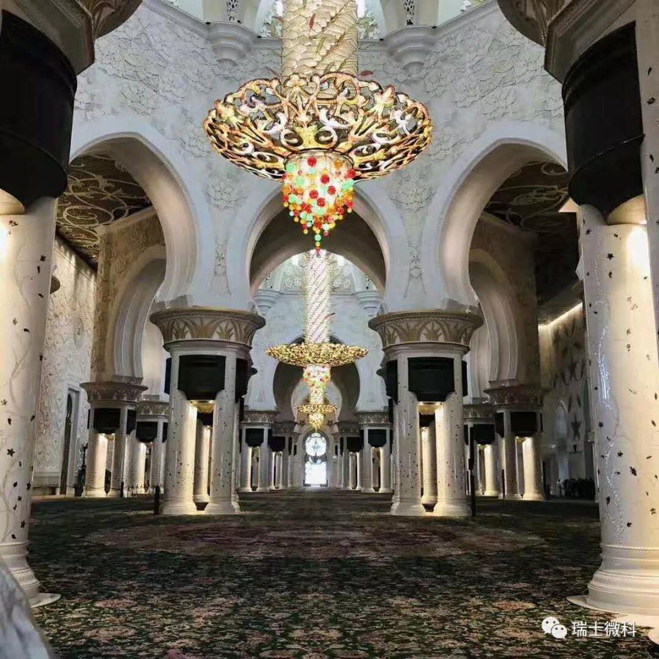 迪拜清真寺---扎耶德清真寺