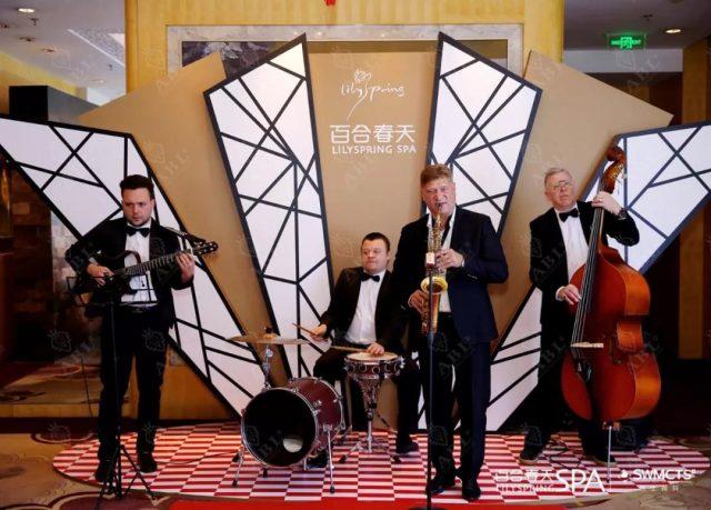 2019瑞士微科&百合春天17周年复古主题派对,爵士乐团献上华丽演奏